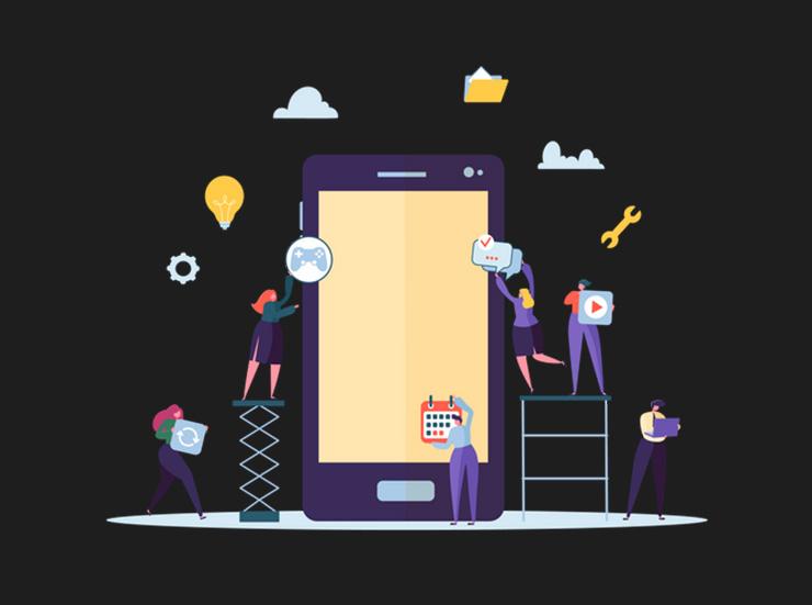 مراحل ساخت یک اپلیکیشن موبایل